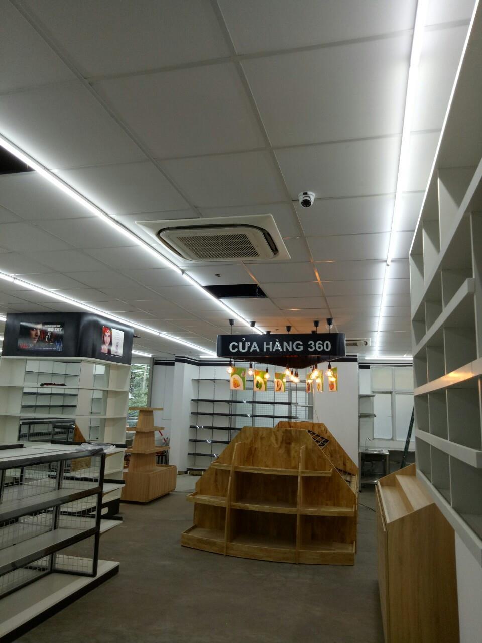 Thi công siêu thị TTTM